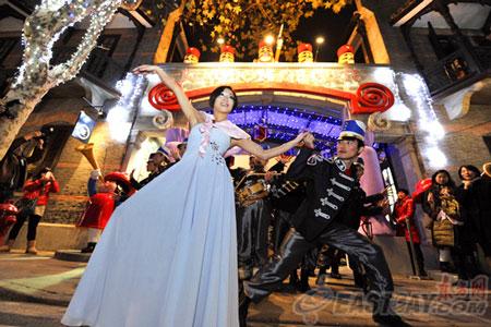 上海 新天地 クリスマス